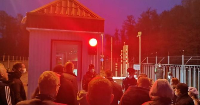 Беларусь запретила въезд гражданам Украины, Польши, Литвы и Латвии