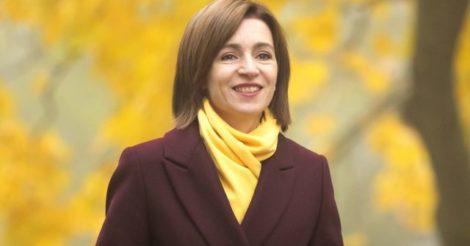 Президентом Республики Молдова стала женщина