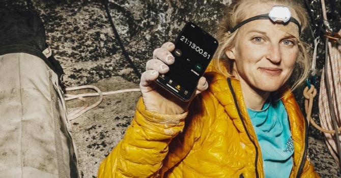 Первая женщина поднялась на вершину Эль-Капитан