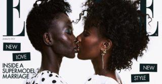 Супружеская пара лесбиянок на обложке глянца Elle UK