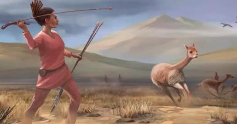 Древние женщины тоже охотились: говорит новое исследование