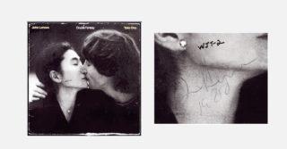 Пластинку, которую Джон Ленон подписал своему убийце выставили на аукцион