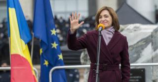 Президент Молдовы обратилась к гражданам на украинском языке