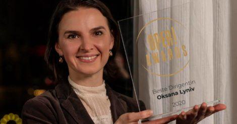 Оксана Лынив стала лучшей диригенткой 2020 года