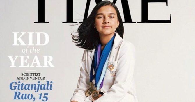 Time впервые вручил награду «Ребенок года»