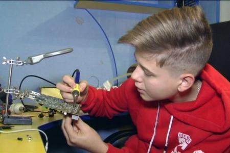 Подросток из Винницы изобрел уникальный передатчик звука