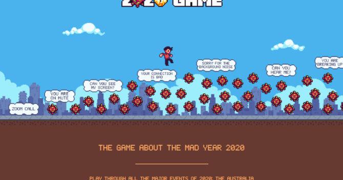 Онлайн-игра по мотивам 2020 года: на реальных событиях