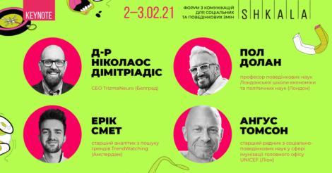 SHKALA 2021 объявляет программу форума