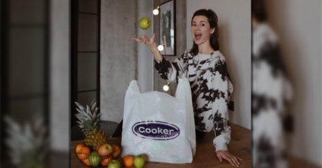 Перший український онлайн-супермаркет Cooker з екологічною доставкою за 30 хвилин