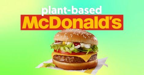 В McDonald's появился веганский бургер: это эксперимент