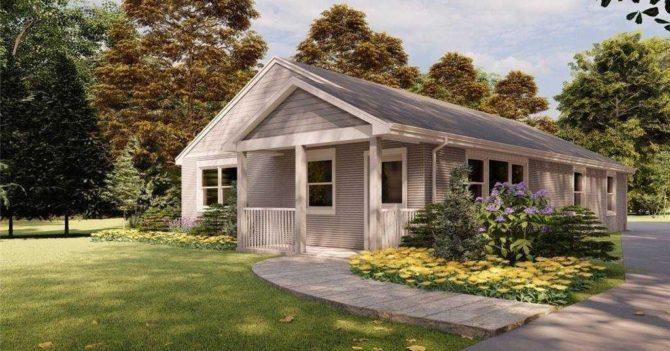 В США продают дом, который напечатали на 3D-принтере