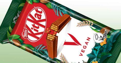 Компания Nestlé разработала и представила веганский KitKat