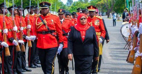 Женщина впервые заняла пост президента Танзании