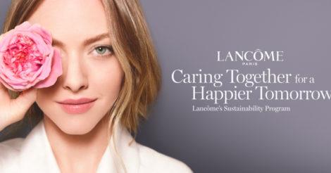Бренд Lancôme создал международную программу устойчивого развития: что это значит
