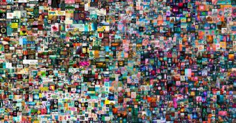 Впервые цифровую картину на аукционе продали за $69 млн