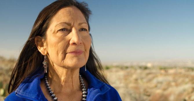 Впервые коренная американка заняла пост в министра в США