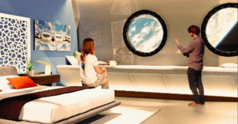 Впервые космический отель откроется в 2027 году