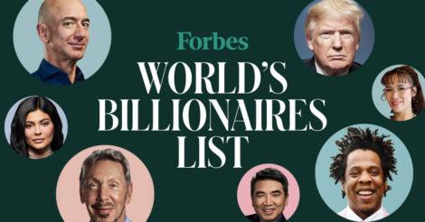 Журнал Forbes опубликовал новый рейтинг: миллиардеров еще больше