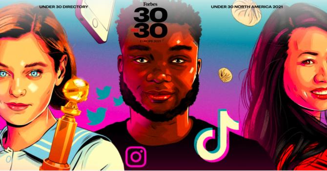 Рейтинг Forbes 30 Under 30: в список вошли 8 украинцев