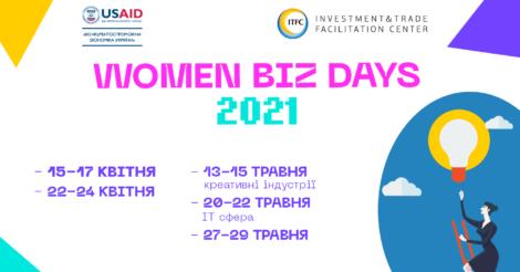 Жінок-підприємниць запрошують на серію безкоштовних онлайн бізнес-семінарів Women Biz Days