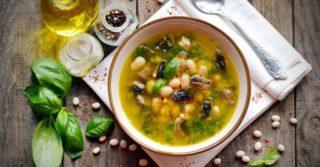 5 рецептов постных супов на каждый день