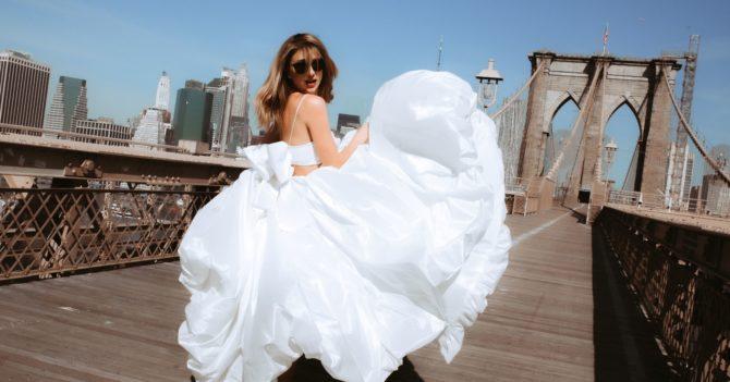 Украинские бренды WONÁ и the COAT by Katya Silchenko выпустили совместную коллекцию свадебных платьев