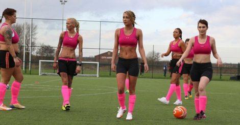 В Нидерландах женщины-футболистки теперь могут играть вместе с мужчинами