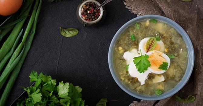 Зеленый борщ: ТОП 3 рецепта, которые тебя покорят
