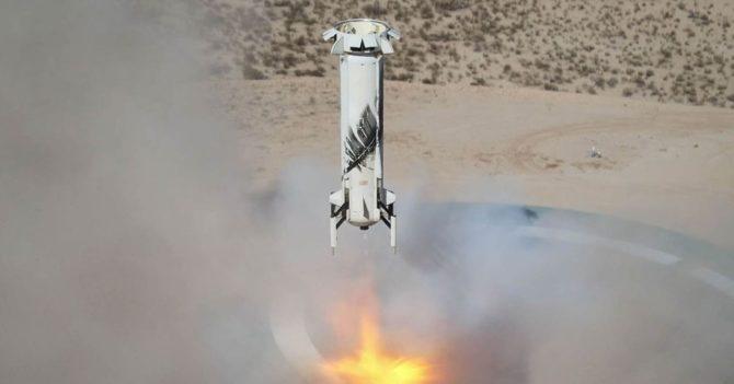 Джефф Безос продал первый билет на космический полет