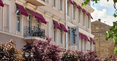 Перший готель мережі Radisson відкрився в Одесі