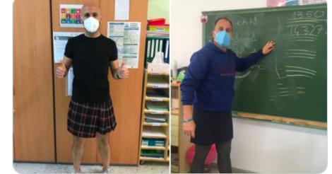 В Испании учителя присоединились к протестам против гендерных стереотипов