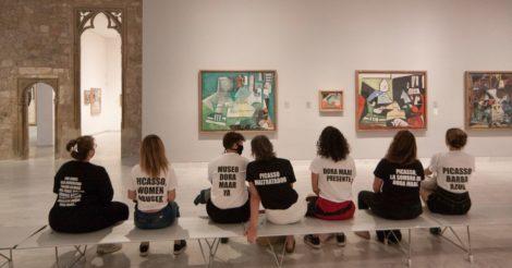 Активистки провели акцию протеста в музее Пикассо: и не просто так