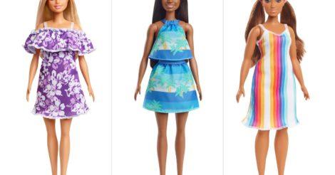 Бренд Mattel выпустил новые куклы Barbie из переработанного пластика