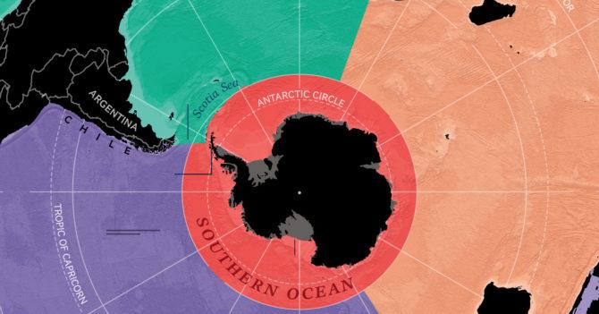 В National Geographic официально признали существование пятого океана