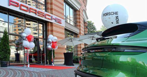 Компанія Porscheвідкрила у центрі Києва перший салон у форматі бутіка