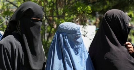 Женщинам Афганистана приказали оставаться дома и не ходить на работу