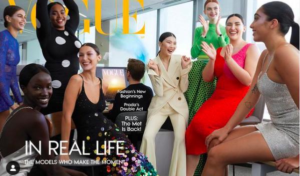 На обложке американского Vogue впервые появилась трансгендерная модель