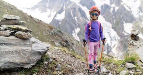 Пятилетняя украинка поднялась на одну из самых высоких гор Кавказа