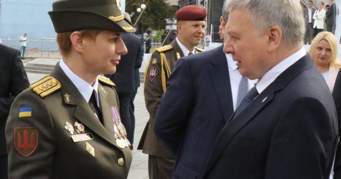 Должность бригадного генерала ВСУ впервые получила женщина