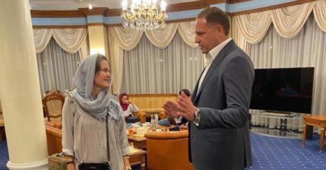 Афганская режиссерка успешно эвакуирована в Украину