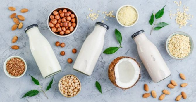 растительное молоко польза