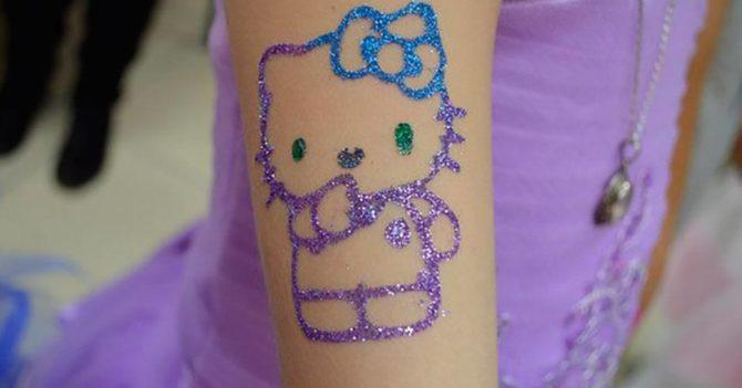Временные татуировки могут повреждать защитный барьер кожи: новое исследование
