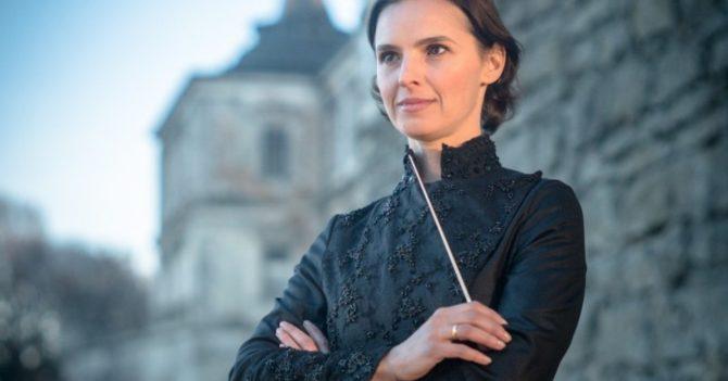 Оксана Лынив стала первой дирижеркой на концерте в честь годовщины ООН